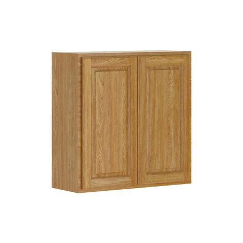 Unfinished Wall Cabinets Home Depot by 30x30x12 In Wall Cabinet In Unfinished Oak W3030ohd The