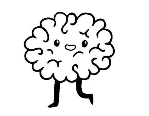 disegni kawaii da colorare e stare disegno di cervello kawaii da colorare acolore