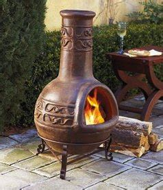 Chiminea Clay Or Iron - using a chiminea a how to guide for your chimenea