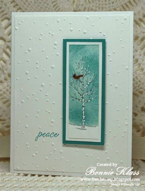 stampin  white christmas images  pinterest