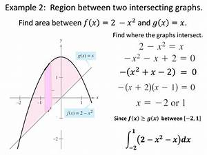 Ppt - Area Between Two Curves Powerpoint Presentation