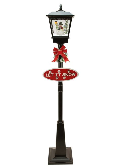 snowman lamp posts christmas wikii
