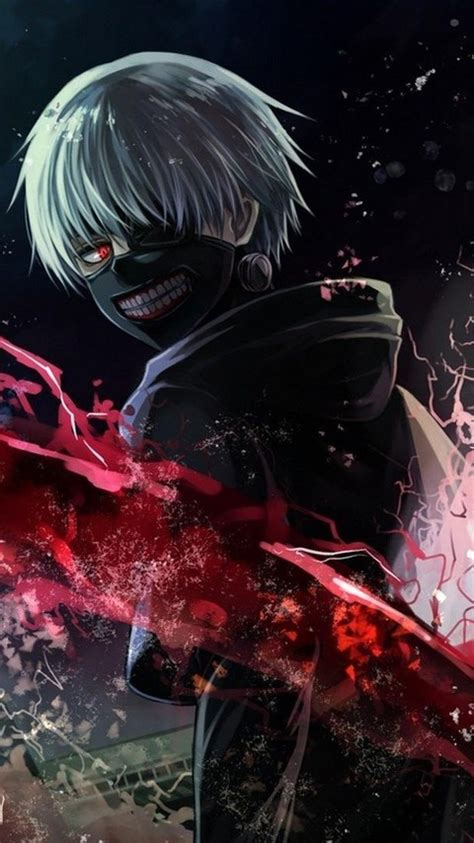 Anime Boy Iphone Wallpaper - 480x854 tokyo ghoul android one hd 4k wallpapers