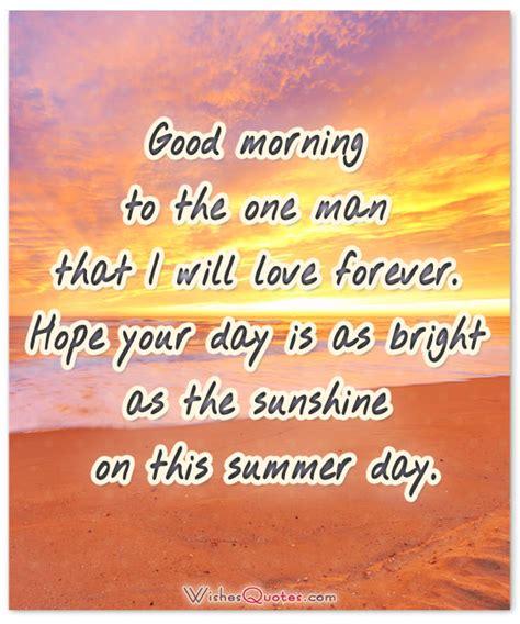romantic good morning messages  husband