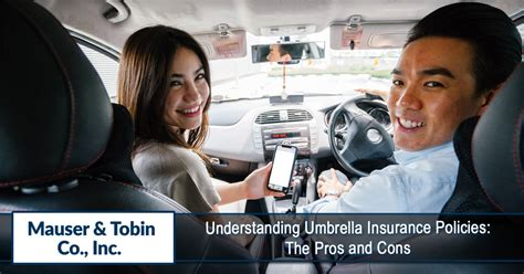 Learn more about umbrella insurance and how it a personal liability umbrella insurance policy can give you extra liability protection without additional costs. Understanding Umbrella Insurance Policies: The Pros and Cons - Mauser & Tobin
