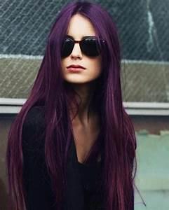 50 Stylish Dark Purple Hair Color Ideas Destined To