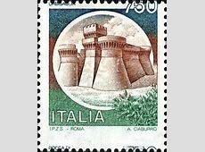 Francobolli italiani Varietà Castelli d'Italia Valore