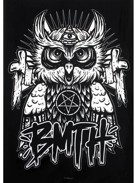 owl bag bring me the horizon owl textile flag buy at