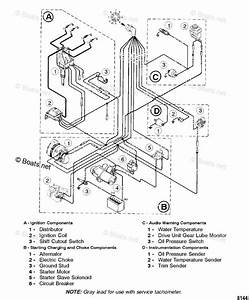 Mercury Mercruiser Sterndrive Parts By Year Mercruiser Oem Parts Diagram For Wiring Harness