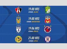 Fechas y horarios de la Jornada 8 del Clausura 2017 de la