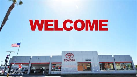 redesigned toyota dealership frank toyota