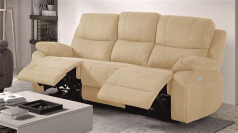 canapé relax tissus 3 places canapé de relaxation 3 places moderne en tissu