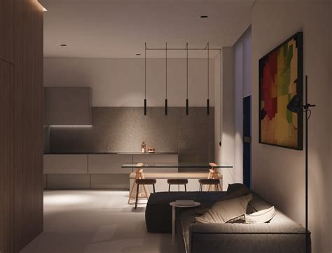 Small Space Luxury Three Modern Apartments 40 Square Metres That Ooze Class by Small Space Luxury Three Modern Apartments 40