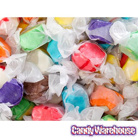 Assorted Salt Water Taffy Candy 3lb Bag Candywarehousecom
