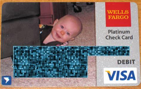 customize  wells fargo check card