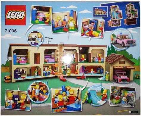 First Pictures Of Legos The Simpsons House Collider