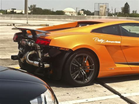lamborghini gallardo supperlegera twin turbo cruising