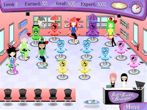 Play Belle`s Beauty Boutique> Online Games