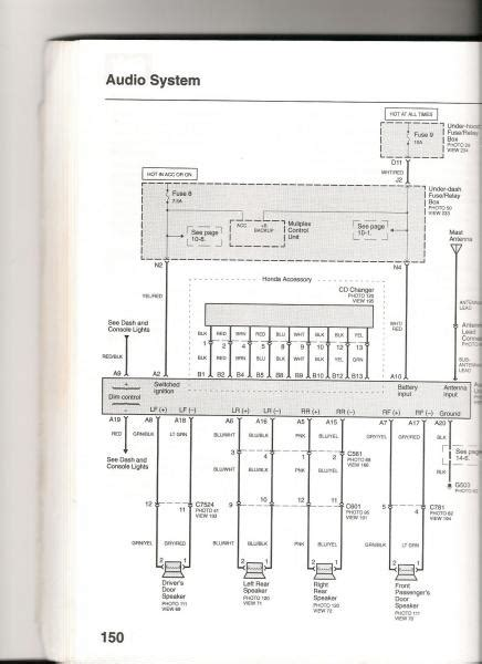 Civic Stereo Wiring Diagram Help Please