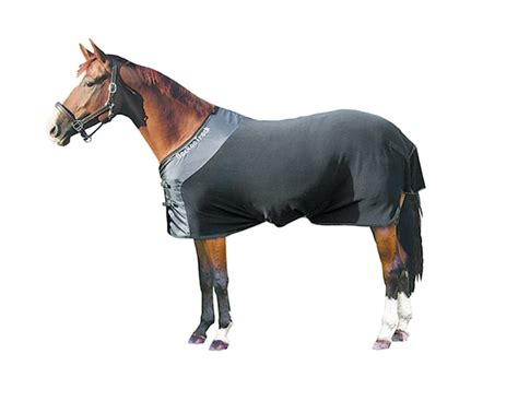 track therapeutic fleece horse blanket