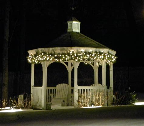 gazebo lighting expert outdoor lighting advice