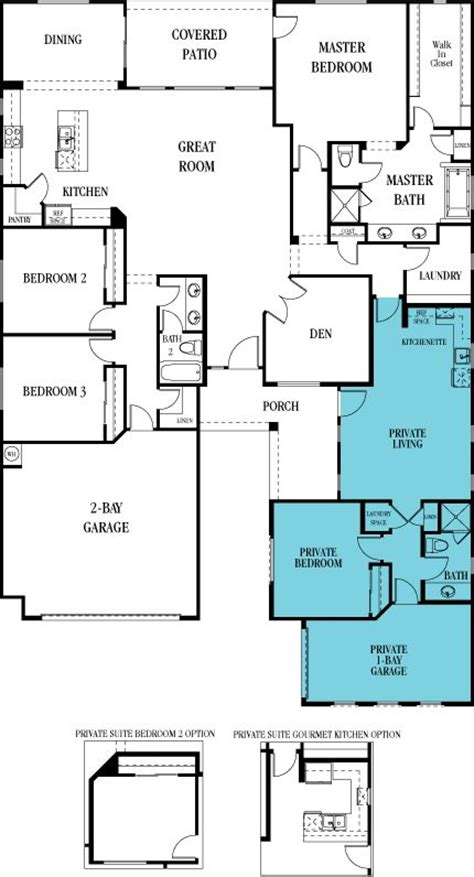 spaces new home plans and home floor plans on pinterest