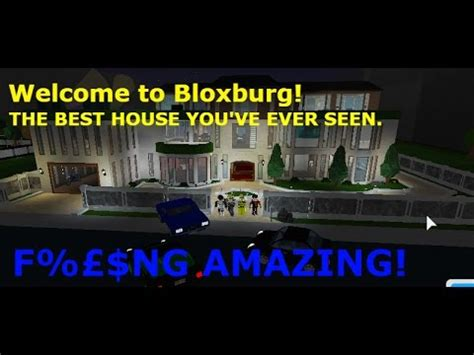 Roblox  Welcome To Bloxburg  Best Looking House I've