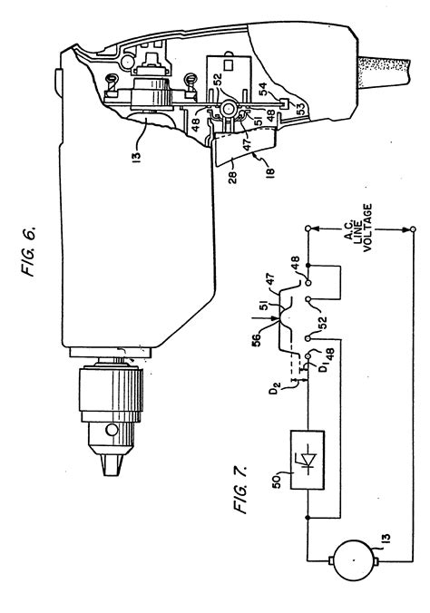 Speed Variable Trigger Drill Switch Wiring Diagram by Patent Ep0025938b1 Trigger Switch And Printed Circuit