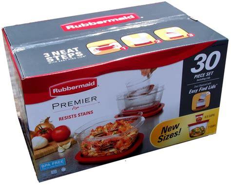 Rubbermaid Premier*30 Piece Set Food *bpa Free* Plastic