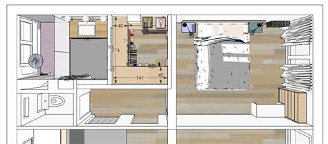 salle de bain dressing chambre plan chambre parentale avec salle de bain et dressing