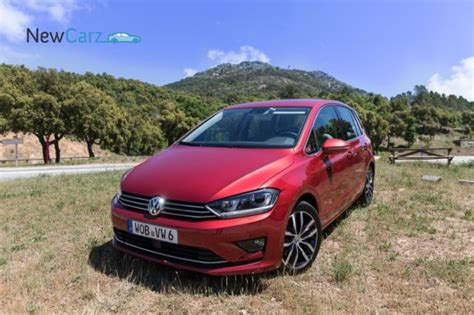 newcarz volkswagen golf sportsvan fahrbericht