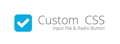 estilos css input file y radio button interactius