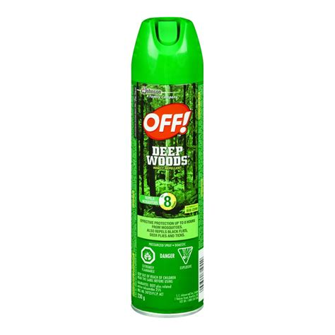 bug repellent buy off insect repellent deep woods 230 g from value valet