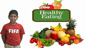 Speech On Healthy Eating