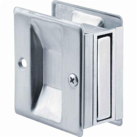 pocket door pull prime line 72 in extruded aluminum pocket door track kit