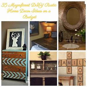 35, Magnificent, Diy, Rustic, Home, Decor, Ideas, On, A, Budget