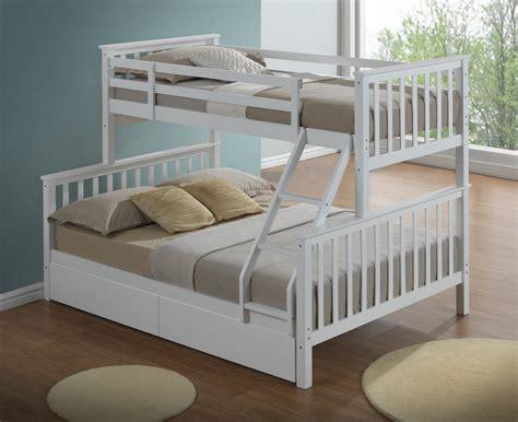 bunk bed sleeper three modern children wooden drawers childrens beds inc double single artisan mattress mattresses