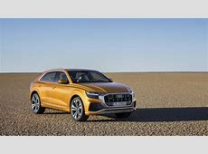 Production ready Audi Q8 SUV coupe officially unveiled in