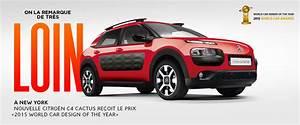 Nouvelle Citroen C4 Cactus : c4 cactus world car design of the year ~ Maxctalentgroup.com Avis de Voitures
