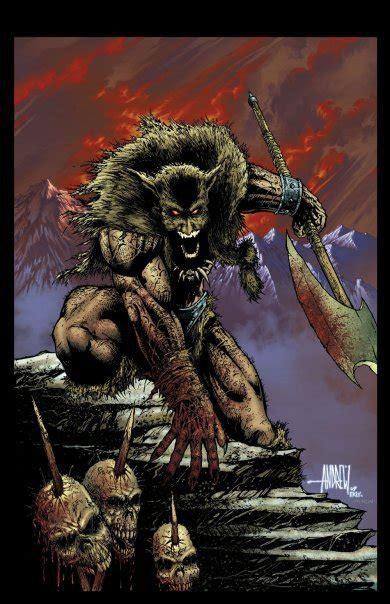 frank frazettas dark wolf   andrewmangum  deviantart