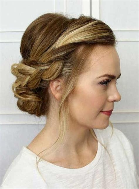 ideas  long hairstyles updos casual