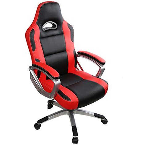 chaise de bureau professionnel iwmh racing chaise de bureau gaming siège baquet sport fauteuil ergonomique professionnel