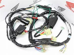 Honda Cb 400 Four For F2 Cable Loom Original Wiring