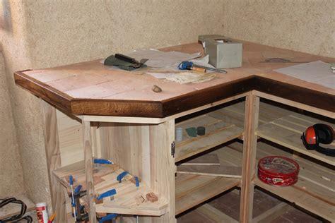 comment fabriquer un bureau en bois fabriquer bureau en palette maison design deyhouse