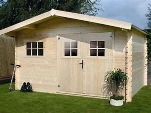 Abri De Jardin Metal 20m2 : abri jardin bois 19 72 m x x 2 32 m 28 mm ~ Melissatoandfro.com Idées de Décoration