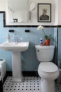 Vintage Bathrooms My Mint Pink Bathroom The Inspired