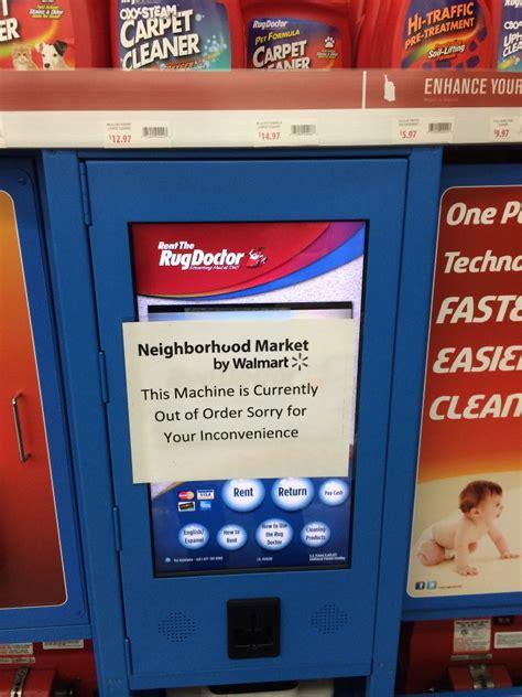 walmart rug doctor rug doctor kiosk walmart rug doctor office photo
