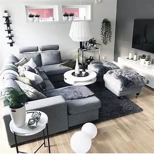 Grau Weißes Sofa : die besten 25 wei e wohnzimmer ideen auf pinterest wei e sofas wohnzimmer grau wei und ~ Indierocktalk.com Haus und Dekorationen