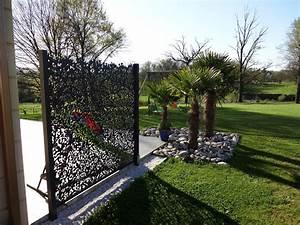 Brise Vue En Aluminium : brise vue rebeyrol cr ateur de jardins ~ Edinachiropracticcenter.com Idées de Décoration