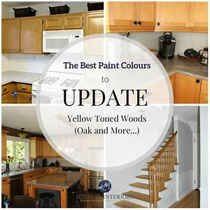 the best paint colours to go with oak or wood trim With best brand of paint for kitchen cabinets with art decorations for walls